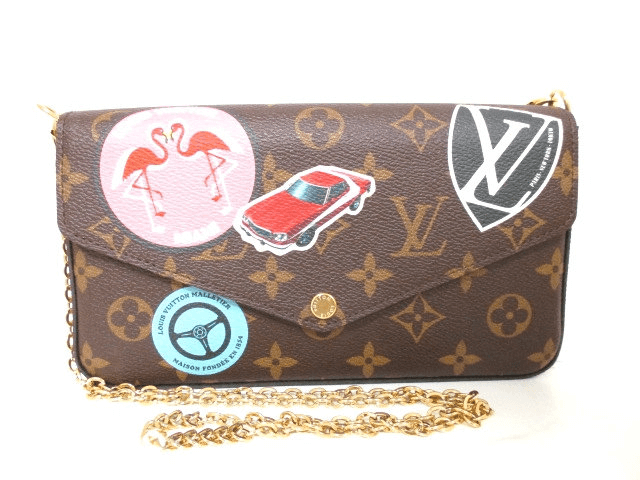 LOUIS VUITTON(ルイヴィトン)/ショルダーバッグ/ポシェット・フェリーチェ